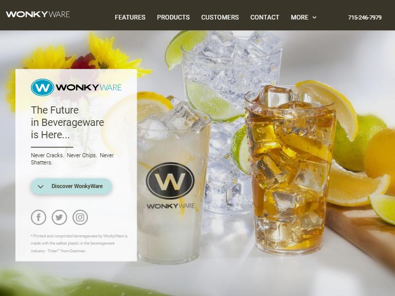 Product Line Website